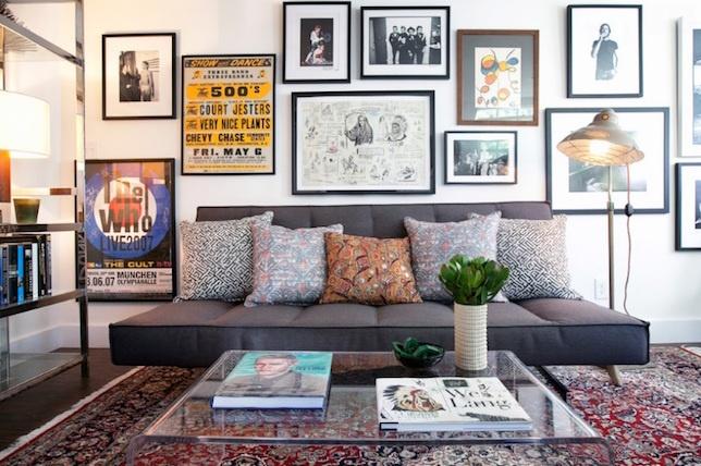 Habillez vos murs pour votre décoration destyle éclectique