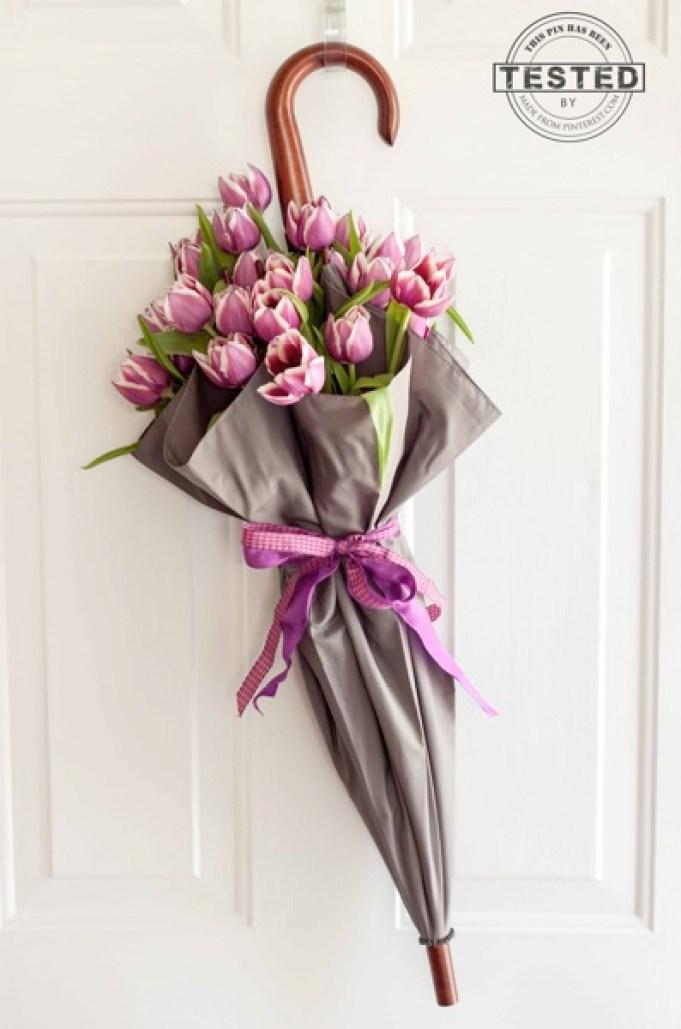 Des idées de décorations florales pour l'été avec de petits objets