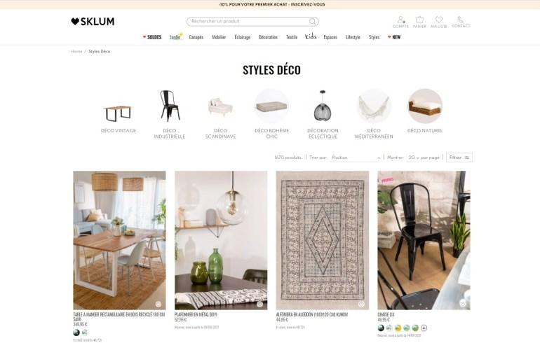 meubles design pas chers