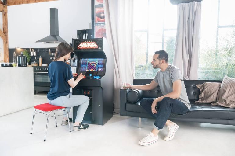Décorer et animer un intérieur avec une borne d'arcade