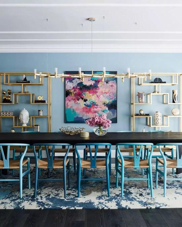 Moderniser sa salle à manger en peignant les murs
