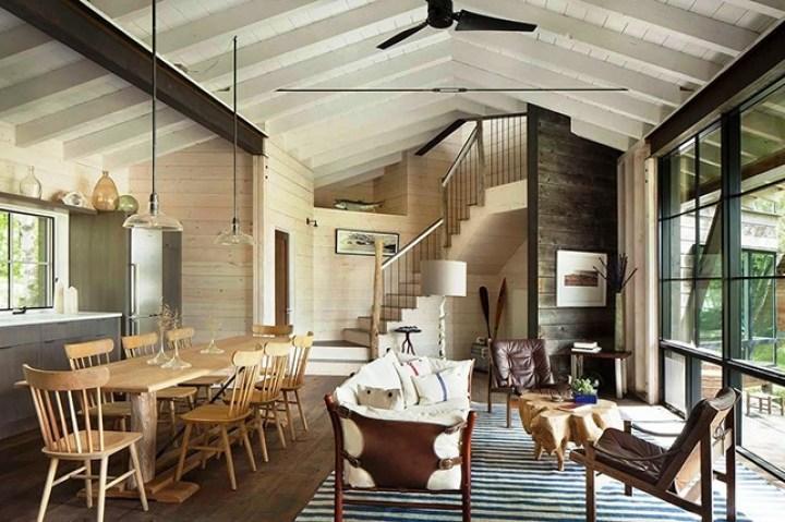 Des meubles dépareillés pour un style rustique