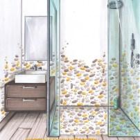 Appartement parisien Salle d'eau