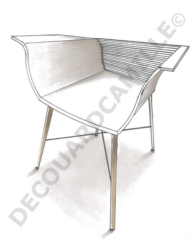 Design de mobilier – La chaise