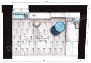 Plan de la chambre