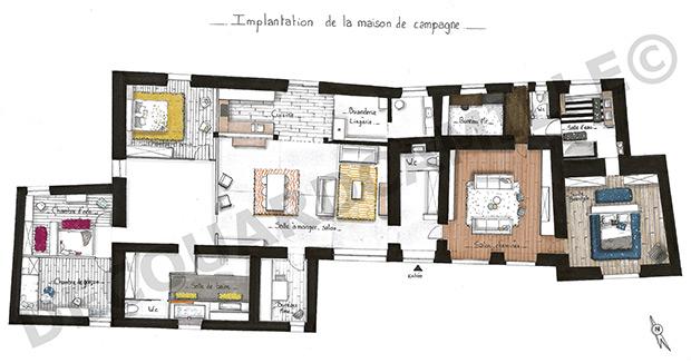 Maison De Campagne  Camille Decouard