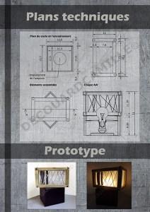Plans techniques et prototype
