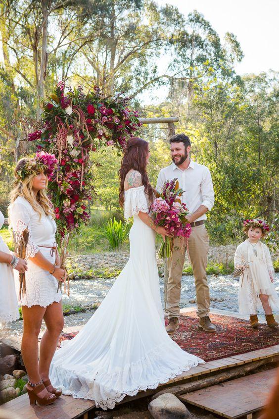 6 idées déco pour un mariage bohème chic réussi | Mariage