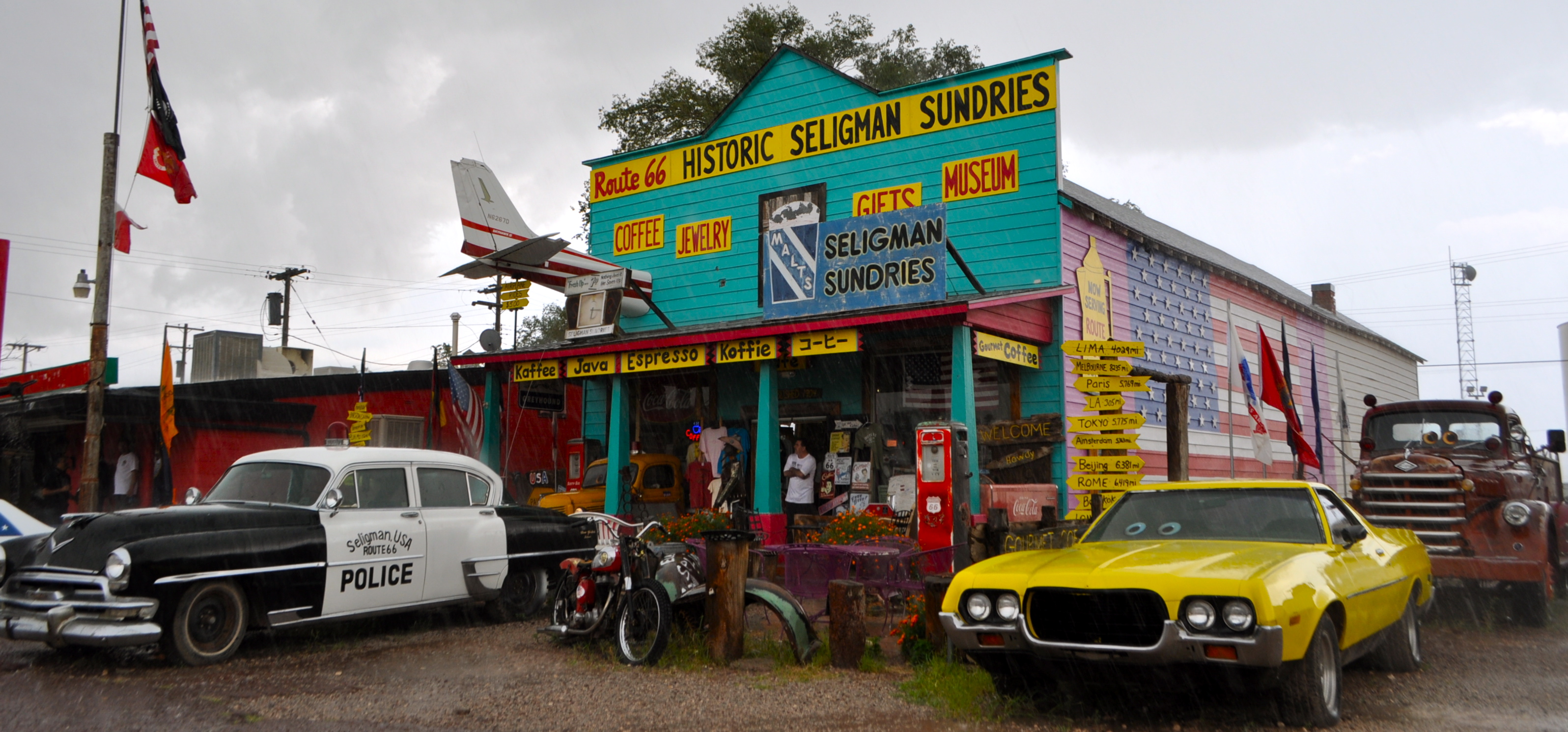 Route 66 Service Stations