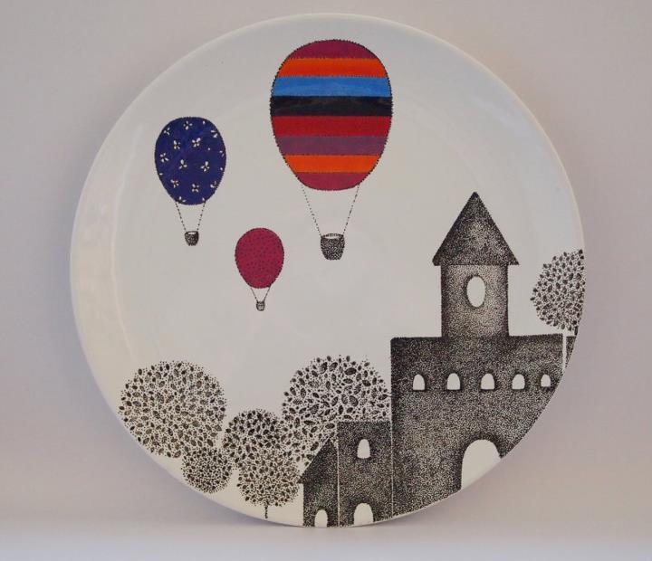 vaisselles en porcelaine  ludiques
