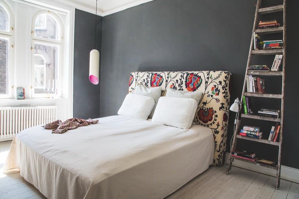Um apartamento cheio de idéias decorativas: design industrial e vintage e muita inspiração