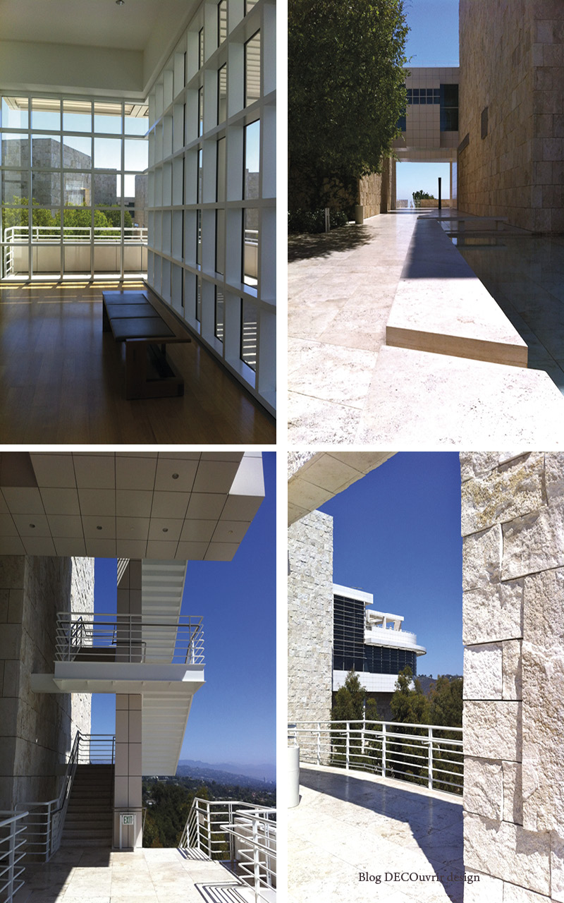 Le Getty center - Blog DECOuvrir design