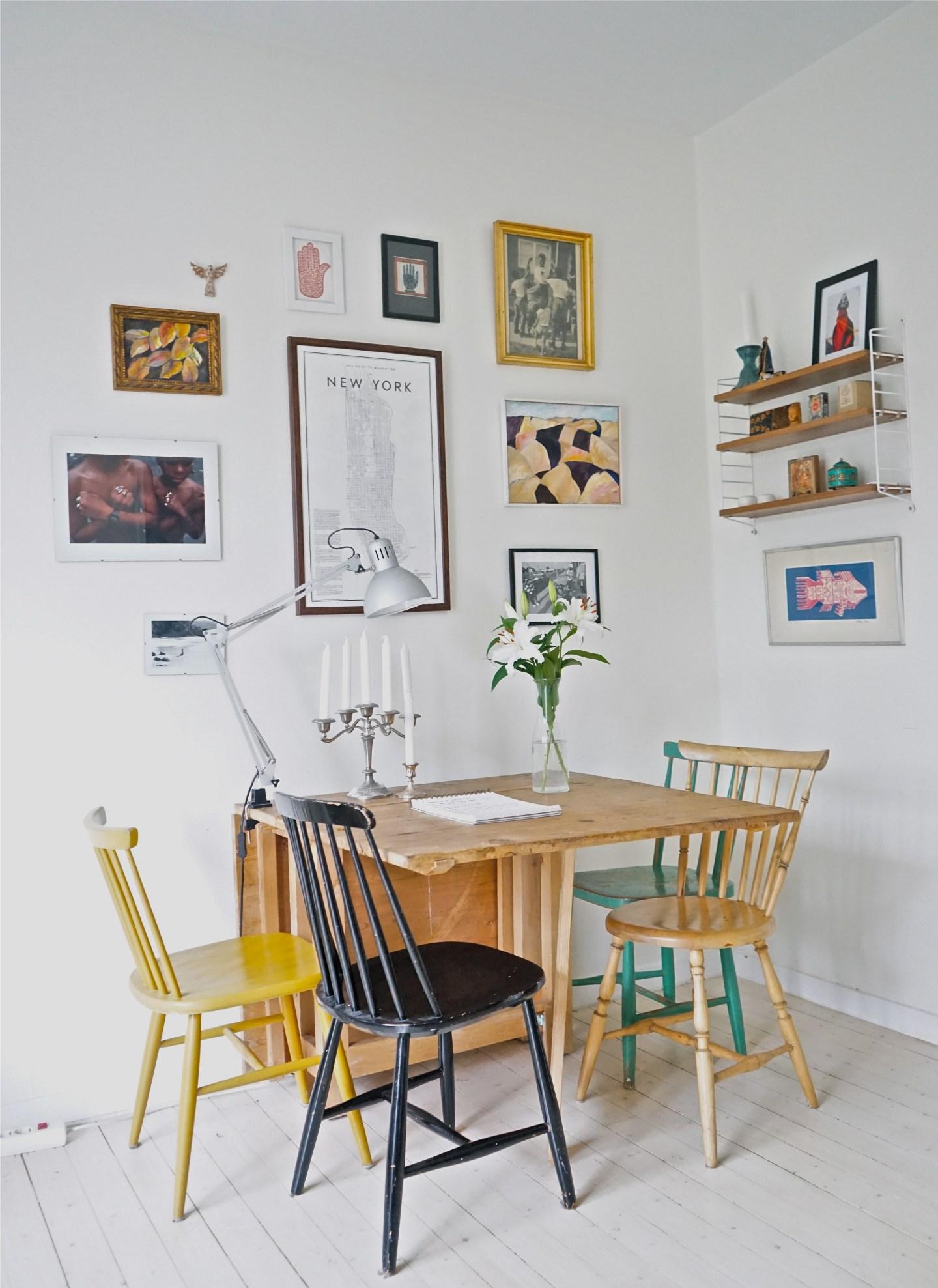 Visite privée//Mon appartement à l'ambiance bohème et scandinave à Stockholm !