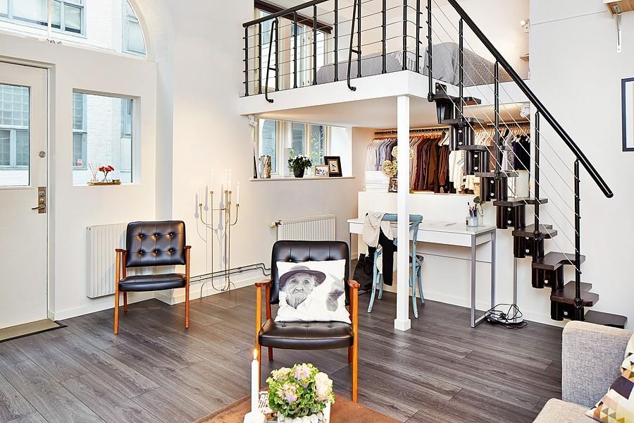 Petits espaces : Un mini-loft qui à tout d'un grand !