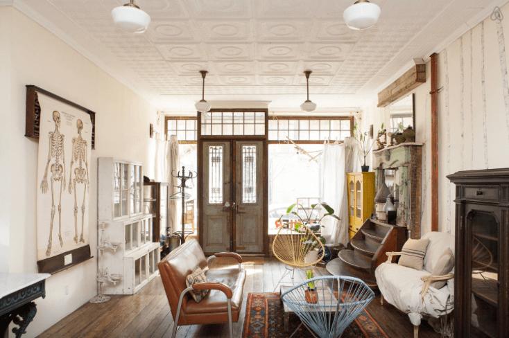 Um apartamento-butique de antiguidades em Nova York: decoração vintage e originalidade garantidas!