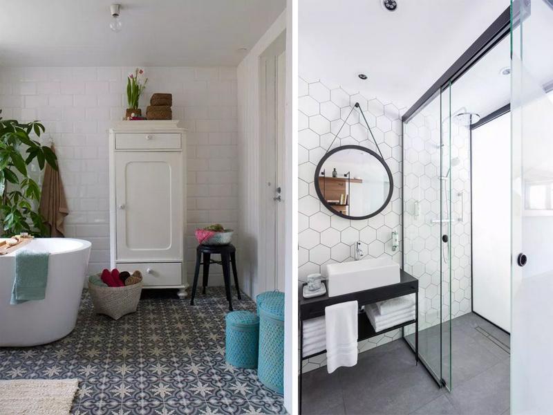 des touches deco pour une salle de bain contemporaine
