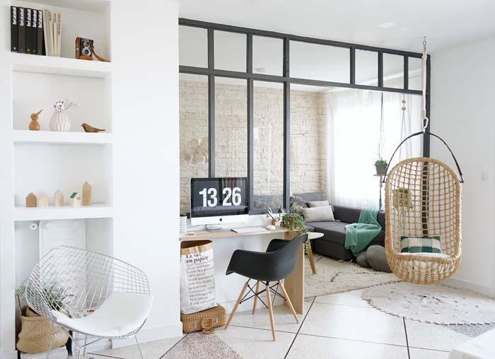 DIY / Ma verrière d'intérieur esprit atelier d'artiste «fait maison»