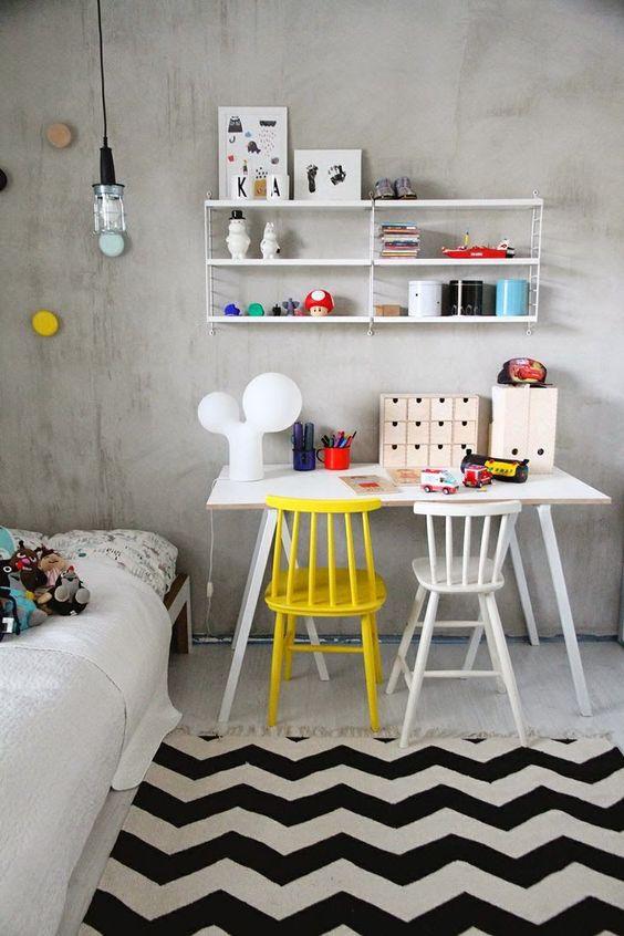 Idées pour un coin bureau enfant très déco   DecouvrirDesign