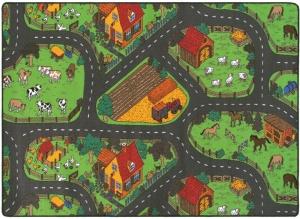 tapis de jeu enfant circuit voiture