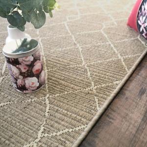 tapis salon terrasse scandinave