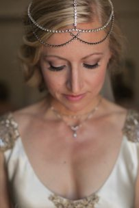 1920s Bridal Headpiece