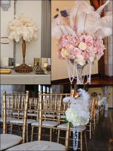 1920s Feathers + Flowers