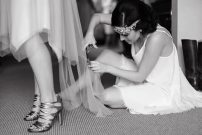 1920s Style Bridesmaids