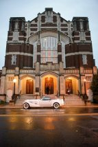 1920s Style Church Wedding