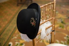 1920s Style Wedding Groom Hat