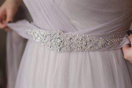 1920s Wedding Bridal Sash