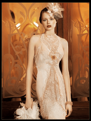 Yolan Cris Deco Wedding Ronda Dress