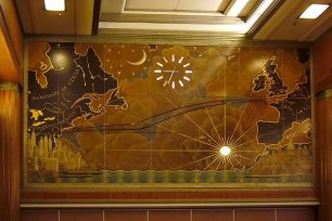 Art Deco Mural || Queen Mary