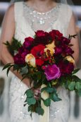 Art Deco Bridal Bouquet