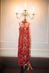 Art Deco Chinese Wedding Dress