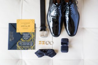Art Deco Groom Accessories