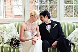 Art Deco Wedding Inspiration | Jenny Packham Dress