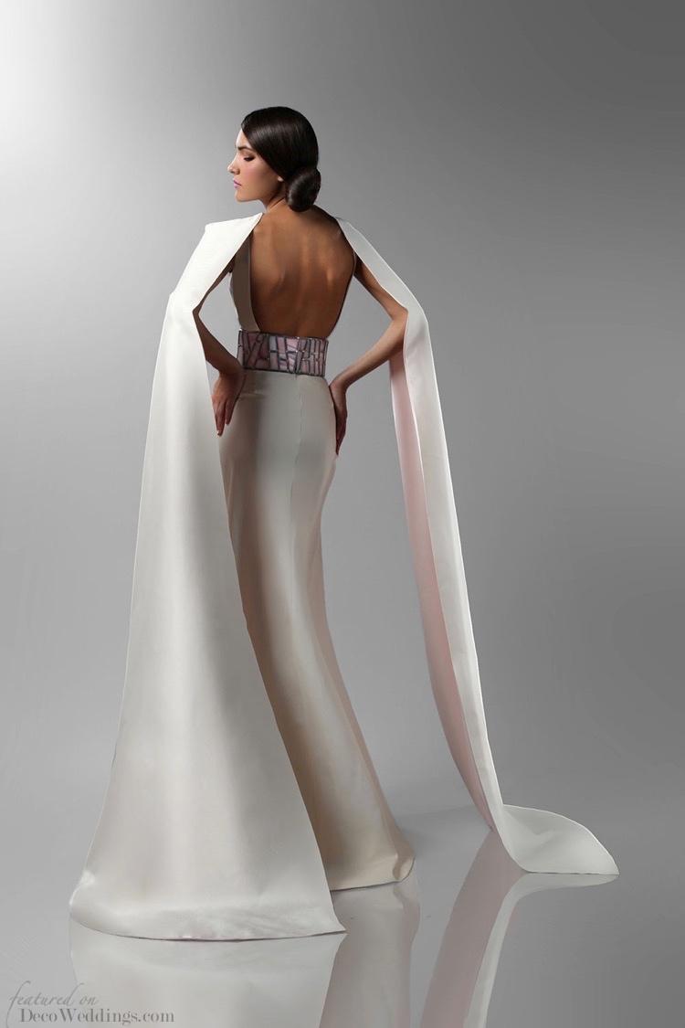 Art Deco Wedding Gowns Isabel Zapardiez