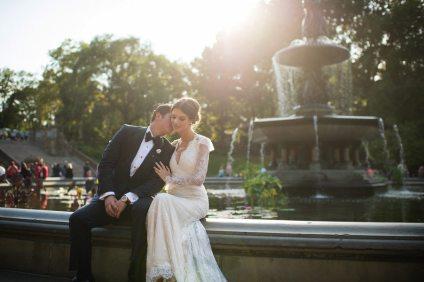 Central Park Vintage Wedding