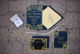Great Gatsby Wedding Invitations | Arizona