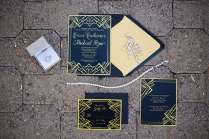 Great Gatsby Wedding Invitations | Arizona