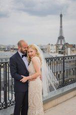 Vintage Inspired Wedding Eiffel Tower