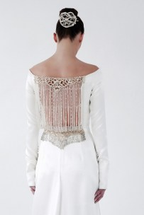 Vintage Inspired Wedding Gown | Isabel Zapardiez