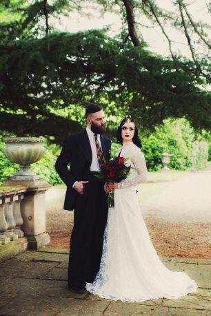Vintage Style Fall Wedding