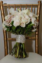 White + Blush Pink Bridal Bouquet