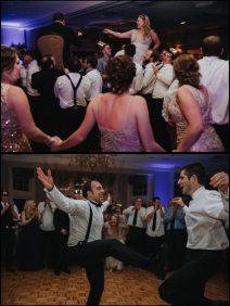 Winter Wedding Dancing