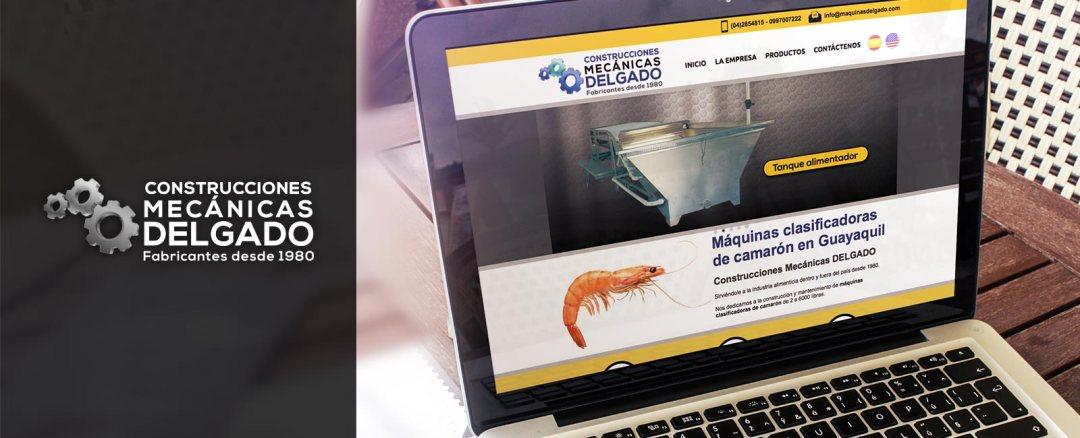 Portafolio web Máquinas Delgado