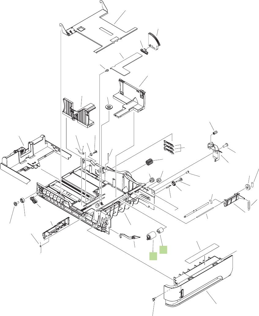Figure 8 10 500 sheet cassette