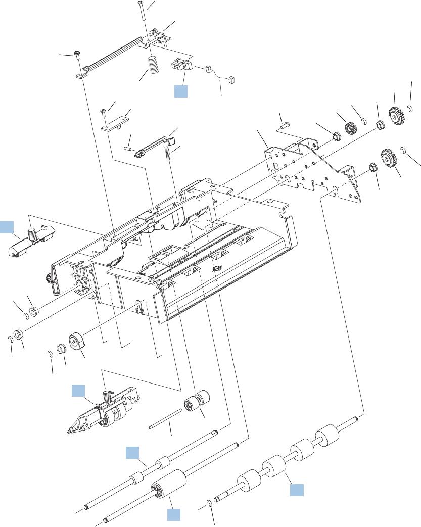Main body 1 of 2 envelope feeder