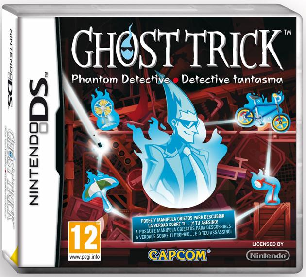 Ghost Trick - carátula