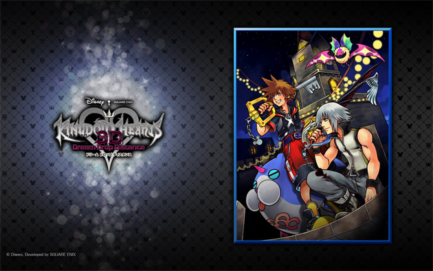 Kingdom Hearts 3D Dream Drop Distance wallpaper